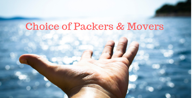 Choice of Packers & Movers